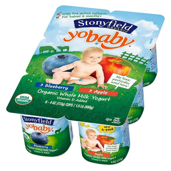 Stonyfield Kids' 6 Pk Cups product image