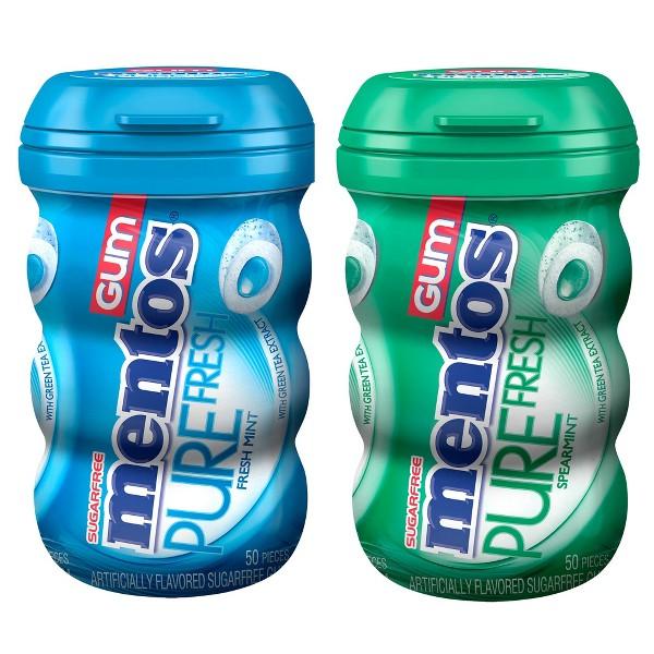 Mentos Gum Bottles product image