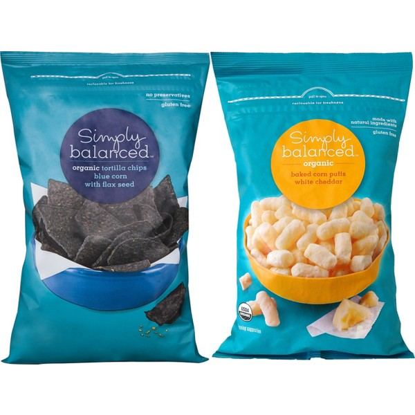 Simply Balanced Chips & Snacks product image