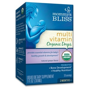 Mommy's Bliss Organic Vitamins