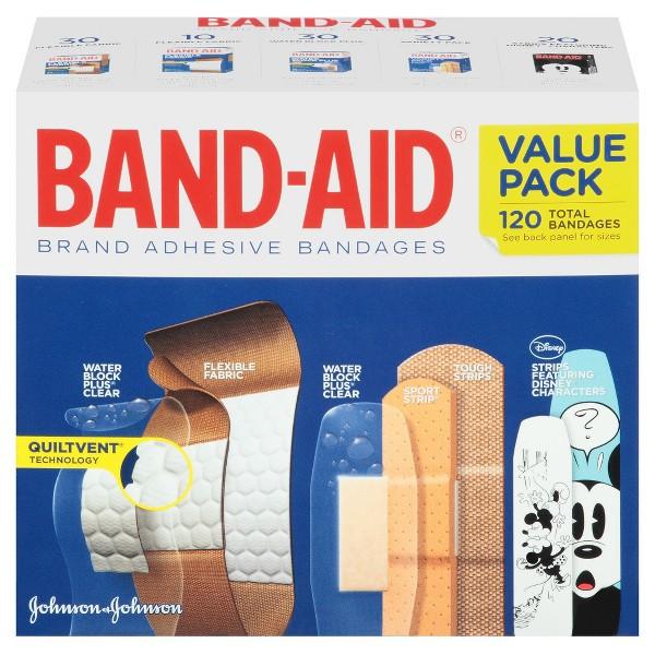 Band-Aid Adhesive Bandages product image