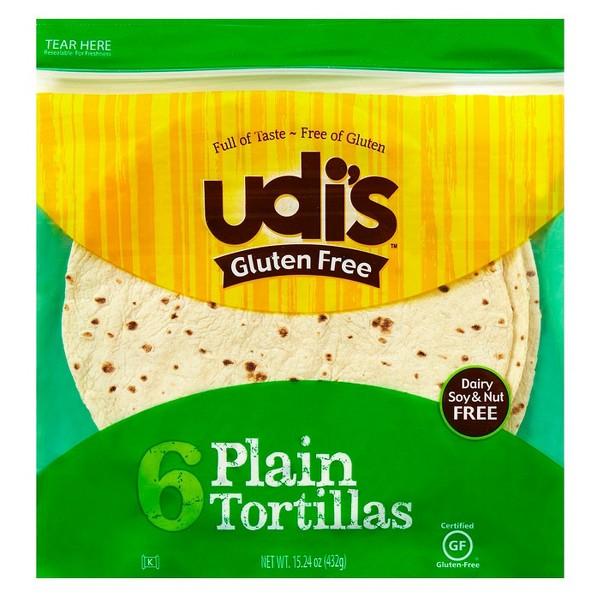 Udi's Gluten Free Tortillas product image