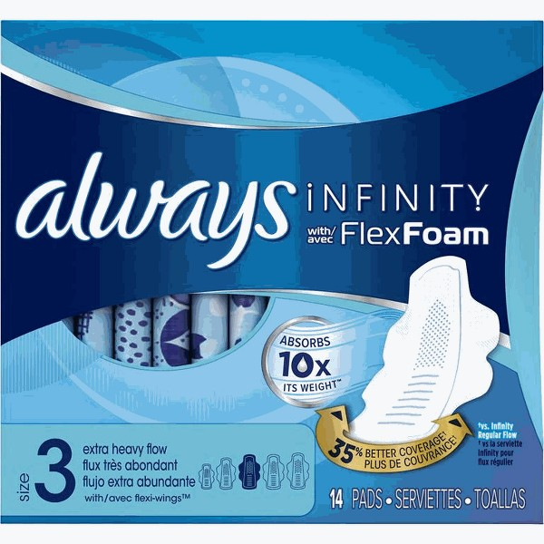 Always Radiant or Infinity Pads product image
