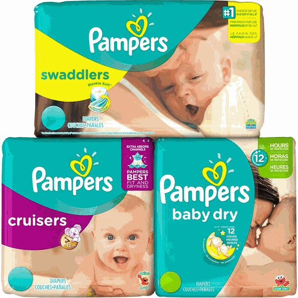 Pampers Swaddler,Cruiser,Baby Dry product image