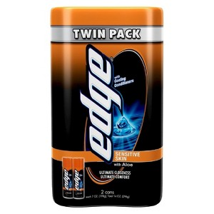 Edge Shave Gel Twin Packs