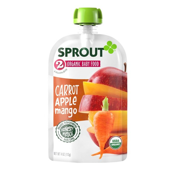 Sprout Baby Food Pouches product image