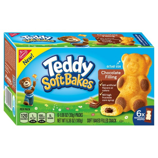 Teddy Soft Bakes 6 &12 ct product image