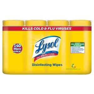 Lysol Wipes 4 pack
