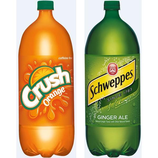 Crush & Schweppes 2 Lt Bottle product image
