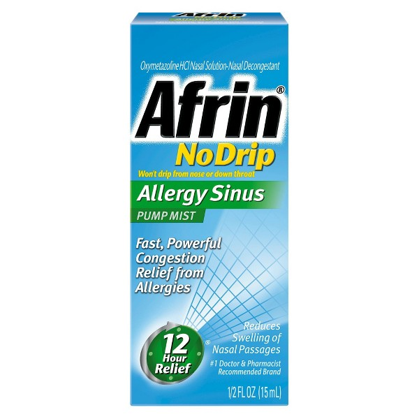 Afrin Nasal Congestion Spray product image