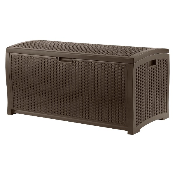 Suncast Resin Wicker Deck Box product image