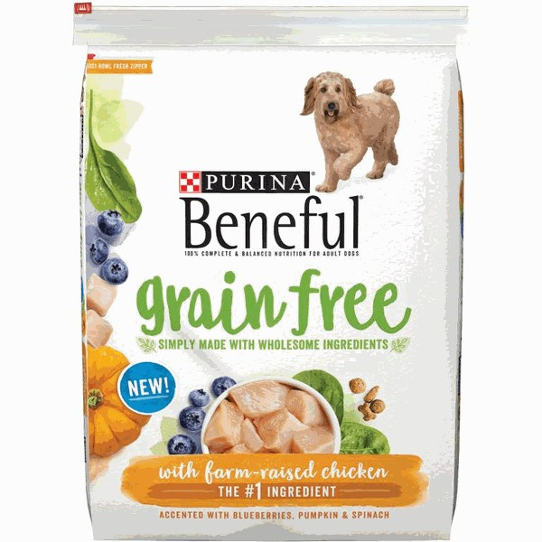 Purina Beneful Grain Free dog food product image