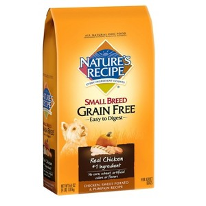Nature's Recipe Small Bag Dog Food