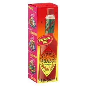 Tabasco 2 oz Hot Sauces