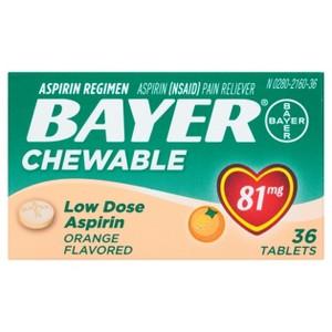 Bayer Aspirin Chewables