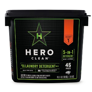 Hero Clean Laundry Detergent Pacs