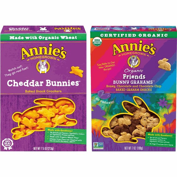 Annie's snacks product image