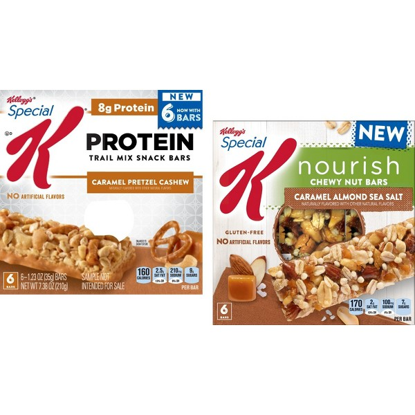 Special K Nourish & Protein Bars product image