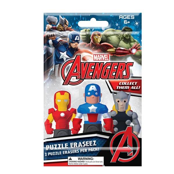 Marvel Avengers Puzzle Erasers product image