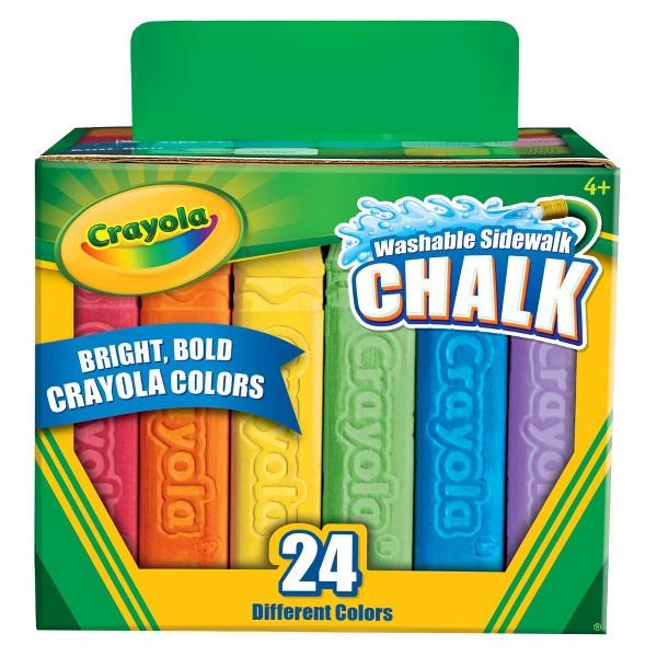 Crayola 24 ct Sidewalk Chalk product image