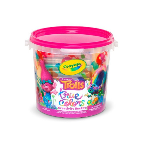 Crayola Trolls Creativity Bucket product image