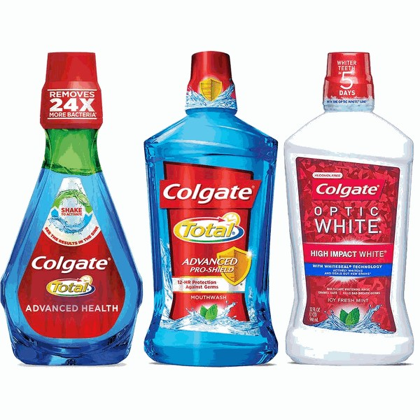 Colgate mouthwash or mouthrinse product image