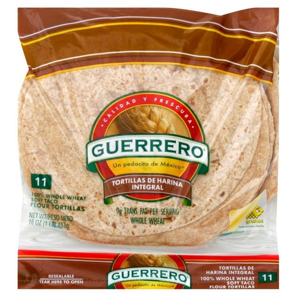 Guerrero Whole Wheat Tortillas product image