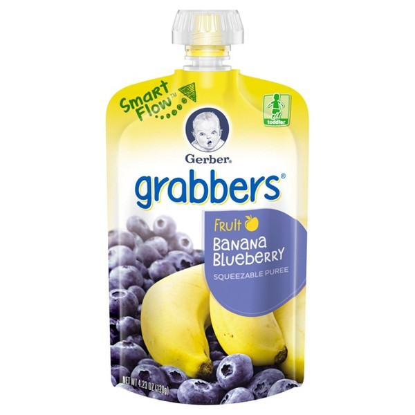 Gerber Grabbers & Organic Pouches product image