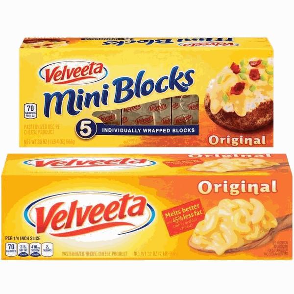 Velveeta Loaf or Mini Blocks product image