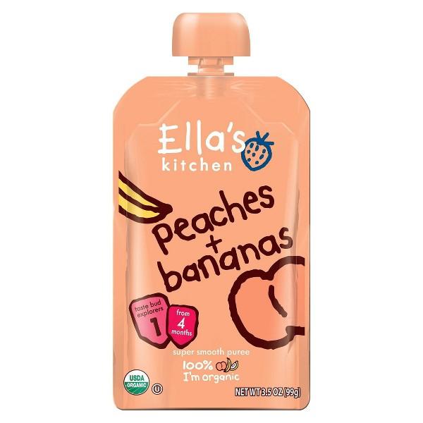 Ella's Kitchen Peach Banana Pouch product image
