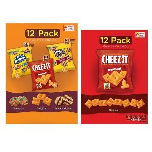Cheez-It & Keebler Multipacks