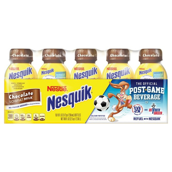 Nesquik Chocolate Low Fat Milk  product image