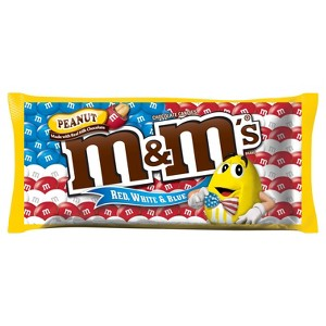 M&Ms Chocolate Red, White, & Blue