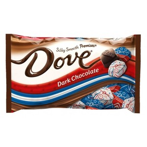 DOVE Chocolate Red, White, & Blue