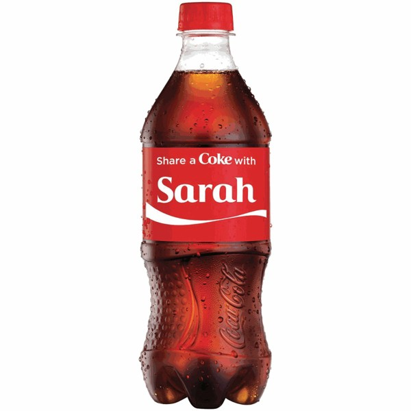 Share A Coke 20 oz Bottles product image