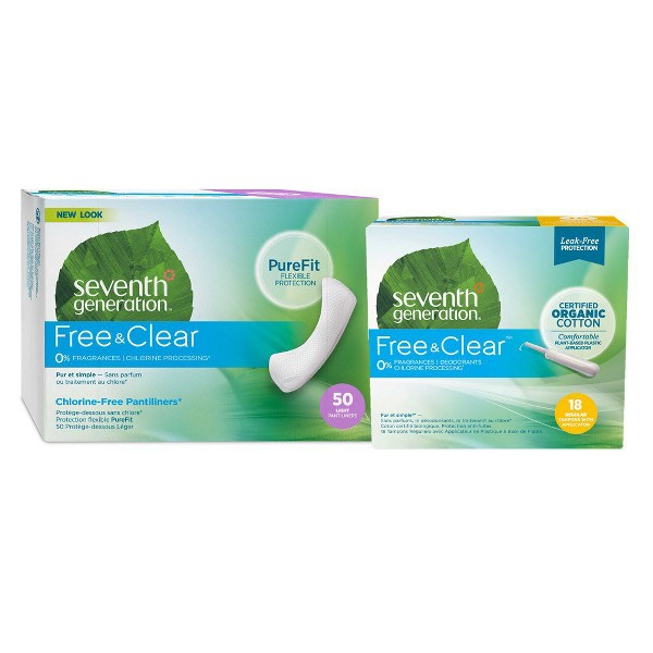 Seventh Generation Feminine Care product image
