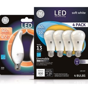 GE LED Light Bulbs