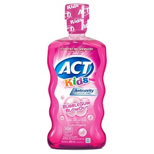 ACT Kids Mouthwash & Toothpaste