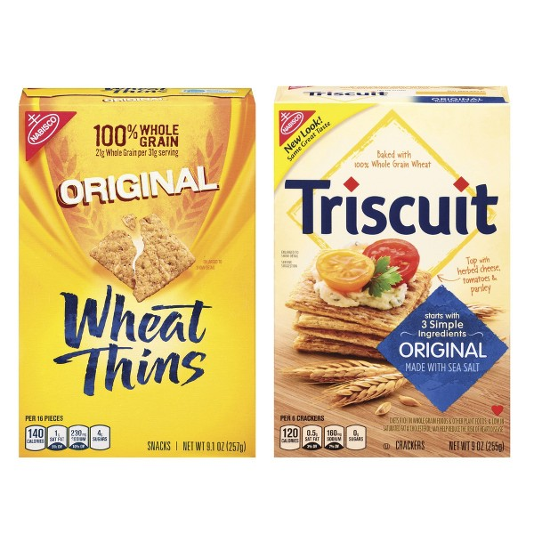 Triscuit & Wheat Thins Crackers product image