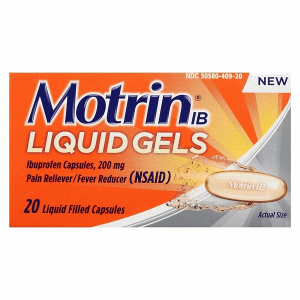 Motrin IB Pain & Fever Reducer product image
