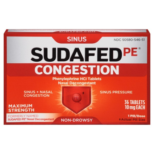 Sudafed PE product image
