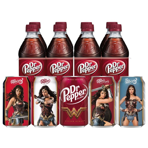Dr Pepper Regular & Diet Soda product image