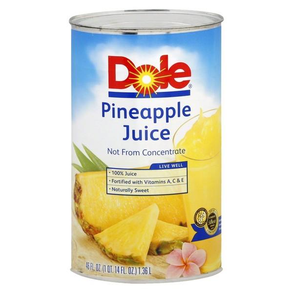 Dole 46 oz Pineapple Juice product image