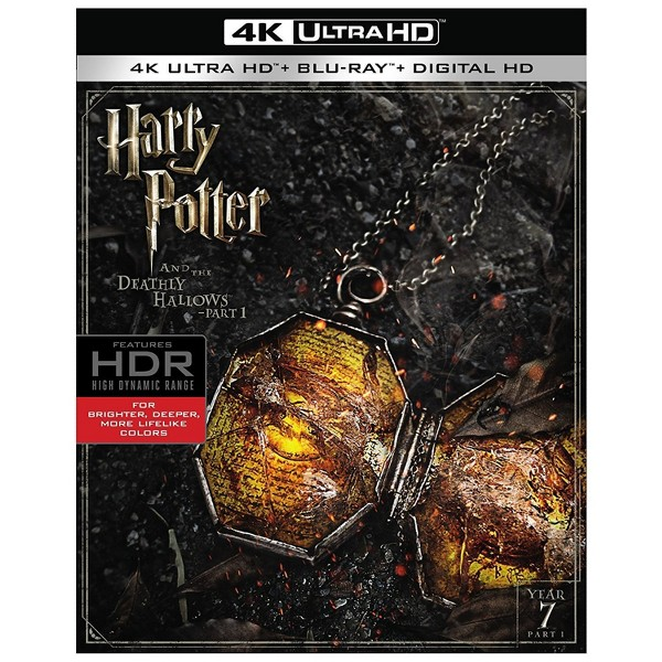 Harry Potter 4K DVDs product image