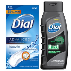Dial for Men Body Wash & Bar Soap