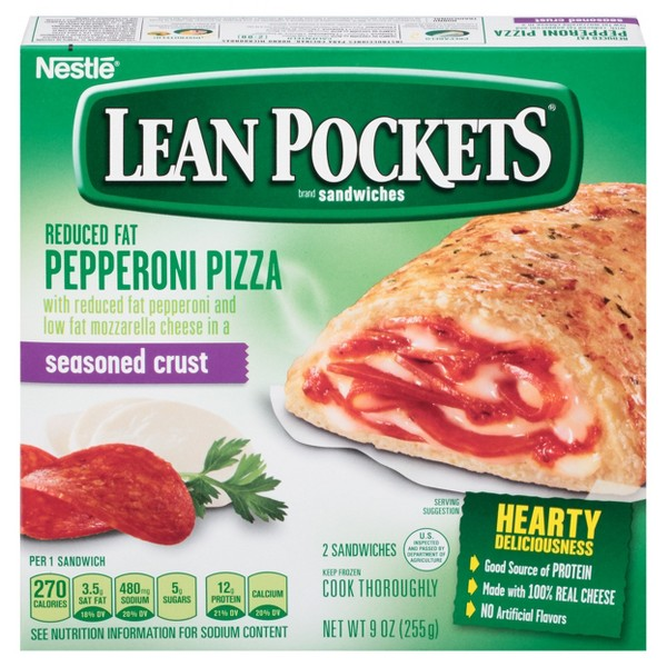 Lean Pockets Stuffed Sandwiches product image