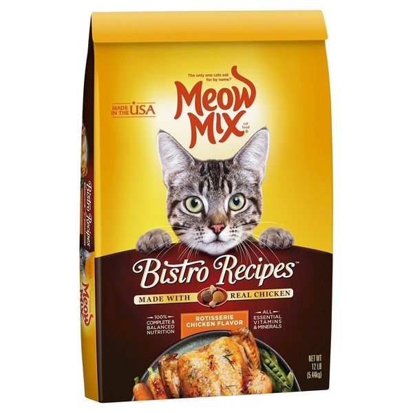 Meow Mix Bistro Recipes product image