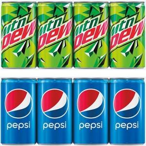 Pepsi & Mountain Dew Mini Cans