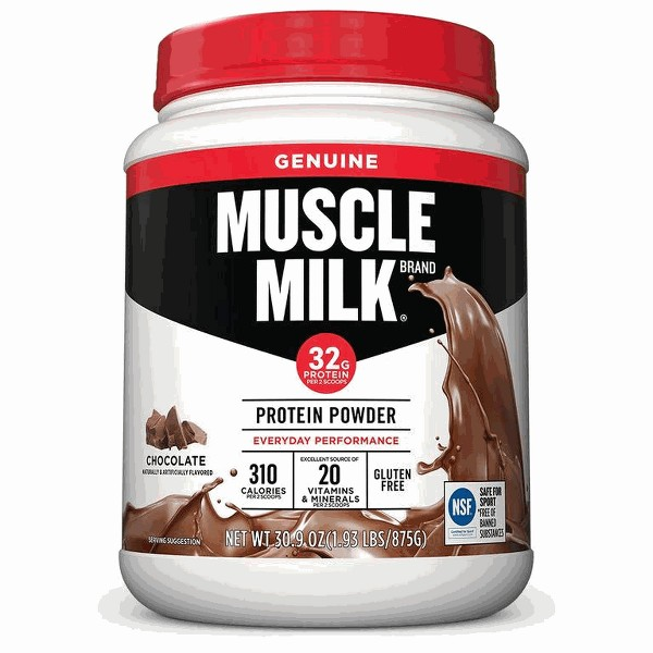 Muscle Milk protein powder product image