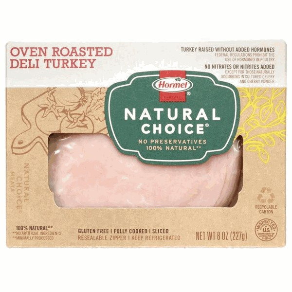Hormel Natural Choice deli meat product image